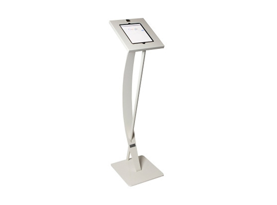 iPad Floorstand Curved White rental