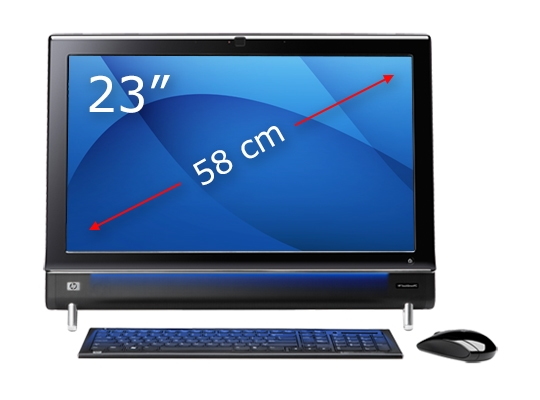 23 inch HP tactile PC